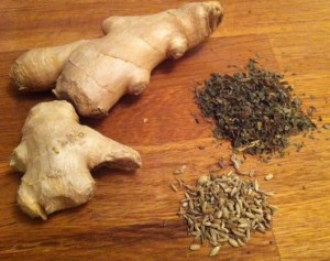 Ginger, Mint and Fennel